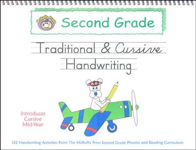 McRuffy Handwriting Series: Traditional to Cursive--Grade 2  -