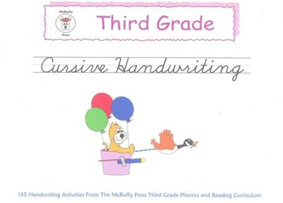 McRuffy Handwriting Series: Cursive--Grade 3   -