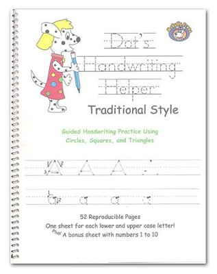 Dot's Handwriting Helper - Traditional Style   -
