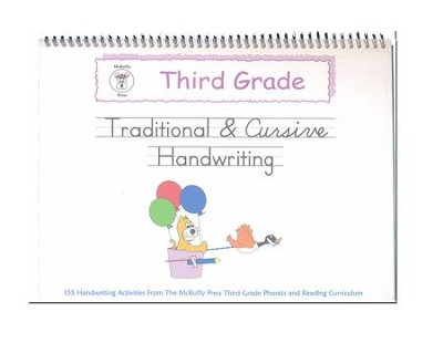McRuffy Handwriting Series: Traditional & Cursive--Grade 3   -