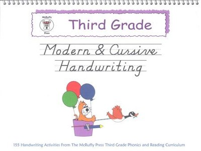McRuffy Handwriting Series: Modern & Cursive--Grade 3   -