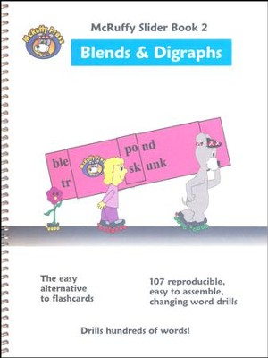 McRuffy Slider Book 2 Blends & Digraphs   -