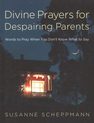 Divine Prayers for Despairing Parents: Words to Pray When You Don't Know What to Say  -     By: Susanne Scheppmann