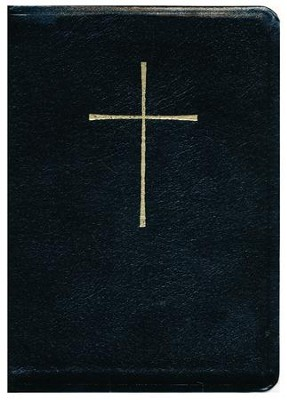 The Book of Common Prayer and Hymnal 1982 Combination: Black Leather  -
