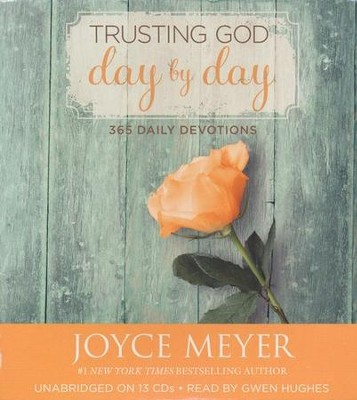 Trusting God Day By Day: 365 Daily Devotions, Audiobook on CD   -     Narrated By: Gwen Hughes     By: Joyce Meyer