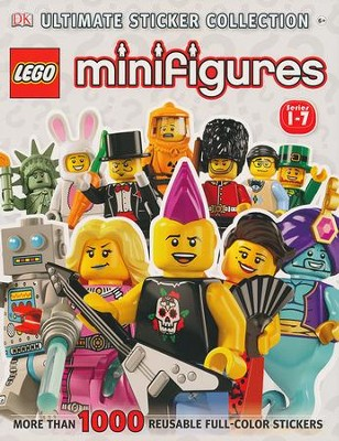 LEGO Minifigures Ultimate Sticker Collection  -