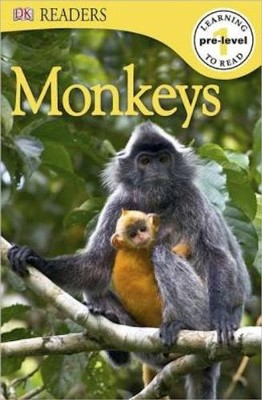 DK Reader Pre-Level 1: Monkeys   -