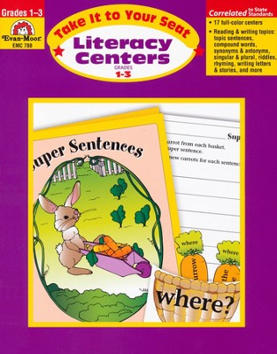Take It to Your Seat: Literacy Centers, Grades 1-3   -