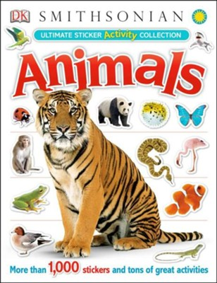 Activity Sticker Book Animals  -