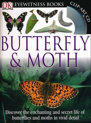 DK Eyewitness Books: Butterfly and Moth  -