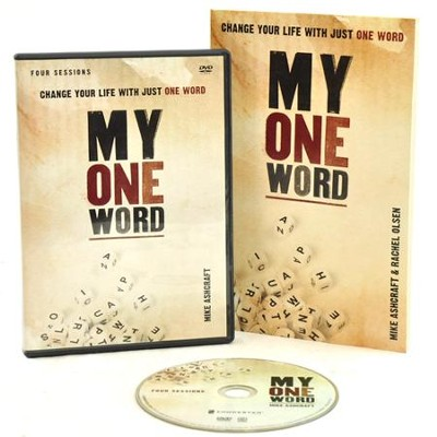 My One Word: Change Your Life With Just One Word, DVD/Book Set   -     By: Michael W. Ashcraft, Rachel Olsen