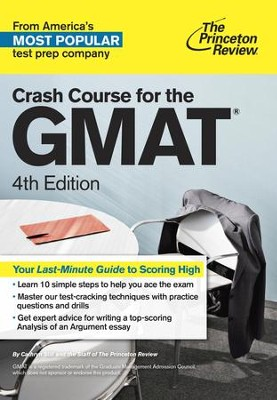 Crash Course for the GMAT, 4th Edition - eBook  -     By: Princeton Review
