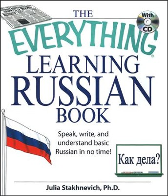 The Everything Learning Russian Book w/cd  -     By: Julia Stakhnevich
