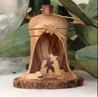 Nativity Ornament in Bell  -