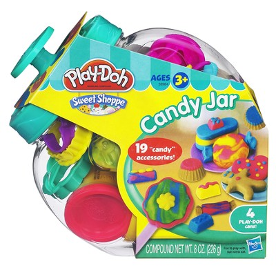 Play Doh Candy Jar  -