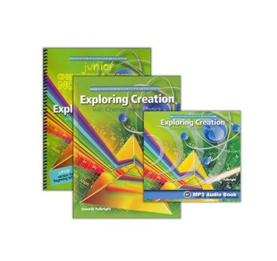 Exploring Creation with Chemistry and Physics Super Set (with Junior Notebooking Journal)  -     By: Jeannie Fulbright