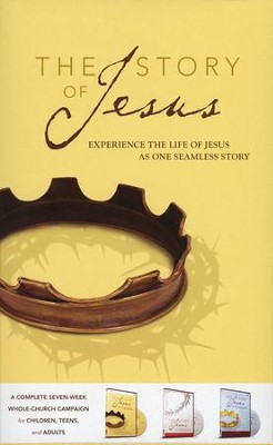 The Story of Jesus Curriculum Kit: Experience the Life of Jesus as One Seamless Story  -