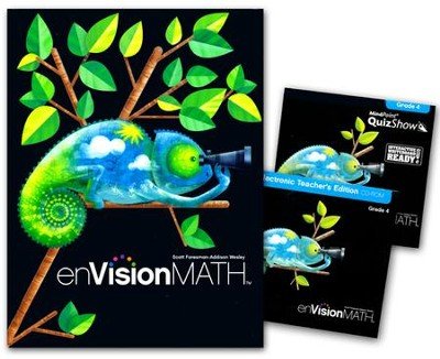 enVision Math Grade 4 (2011 Copyright) Homeschool Bundle  -