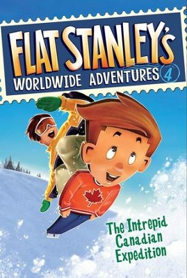 Flat Stanley's Worldwide Adventures #4: The Intrepid Canadian Expedition - eBook  -     By: Jeff Brown     Illustrated By: Macky Pamintuan