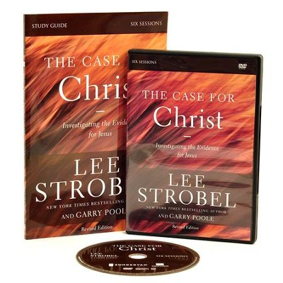 The Case for Christ Revised Study Guide with DVD: Investigating the Evidence for Jesus  -     By: Lee Strobel