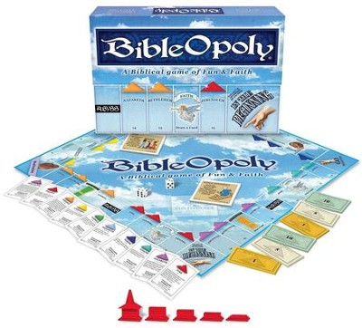 Bibleopoly: A Biblical Game of Fun & Faith    -
