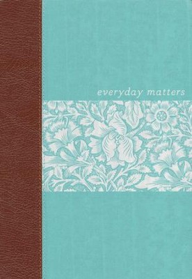 NLT Everyday Matters Bible for Women, Deluxe Hardcover   -