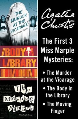 Miss Marple Bundle: The Murder at the Vicarage, The Body in the Library, and The Moving Finger / Digital original - eBook  -     By: Agatha Christie