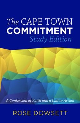 The Cape Town Commitment, Study Edition   -     By: Rose Dowsett