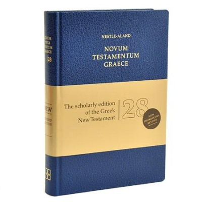 Novum Testamentum Graece, Nestle-Aland 28th Edition (NA28)   -     By: Institute for New Testament Textual Research