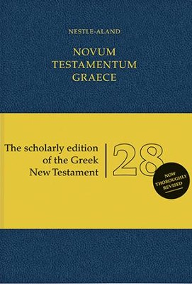 Novum Testamentum Graece, Nestle-Aland 28th Edition (NA28) Imitation Leather-Blue  -     By: Institute for New Testament Textual Research