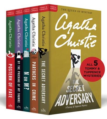 The Complete Tommy & Tuppence Collection: The Secret Adversary, Partners in Crime, N or M?, By the Pricking of My Thumbs, and Postern of Fate - eBook  -     By: Agatha Christie