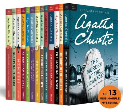 The Complete Miss Marple Collection - eBook  -     By: Agatha Christie