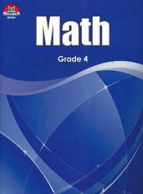 Math Workbook Grade 4  -
