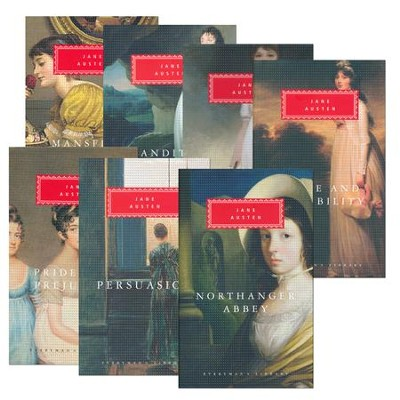 Jane Austen: Emma; Mansfield Park; Northanger Abbey; Persuasion; Pride and Prejudice; Sanditon and Other Stories; Sense and Sensibility  -     By: Jane Austen