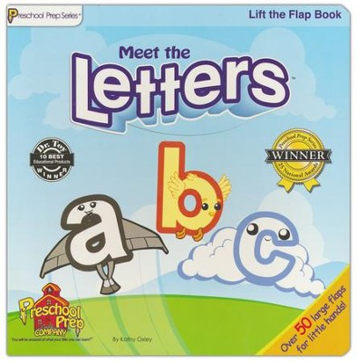 Lift the Flap Book: Meet the Letters   -