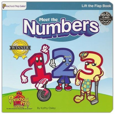 Lift the Flap Book: Meet the Numbers   -