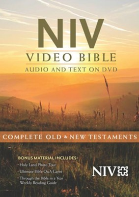 NIV Video Bible: Audio and Text on DVD   -