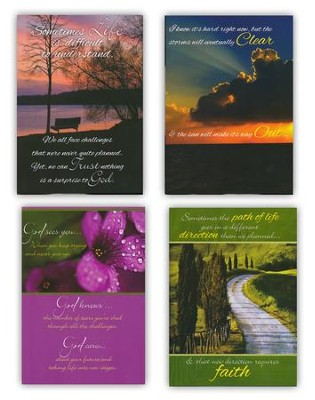 Paths of Life, Thinking of You Cards, Box of 12  -