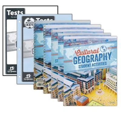 Geography Grade 9 Homeschool Kit (4th Edition)   -