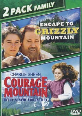 Escape To Grizzly Mountain/Courage Mountain, Double Feature DVD   -