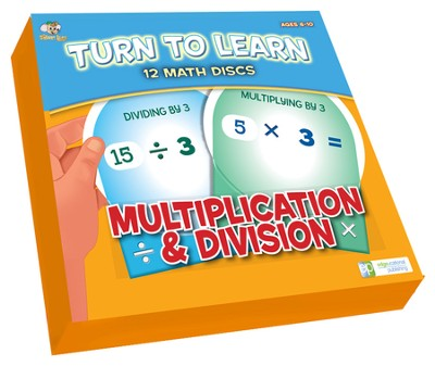 Math Disc Flash Cards: Multiplication & Division   -