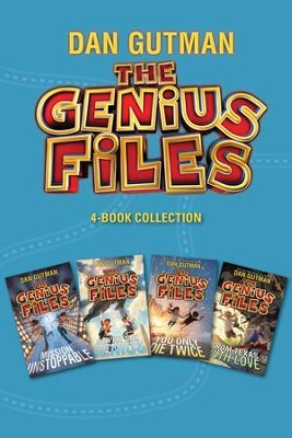 The Genius Files 4-Book Collection: Mission Unstoppable, Never Say Genius, You Only Die Twice, From Texas with Love - eBook  -     By: Dan Gutman