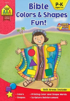 Bible Colors & Shapes Fun! Ages 4-6   -