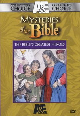 Collector's Choice: Mysteries of the Bible: The Bible's Greatest Heroes, 2 DVD Set  -