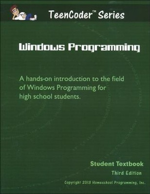 TeenCoder: Windows Programming Course, Student Textbook with CDROM, 3rd Edition  -