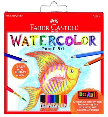 Do Art Watercolor Pencil Art  -     By: Creativity for Kids