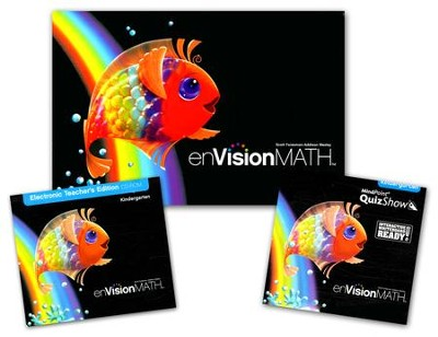 enVision Math Homeschool Bundle, Grade K   -