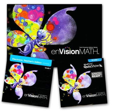 enVision Math Homeschool Bundle, Grade 1   -