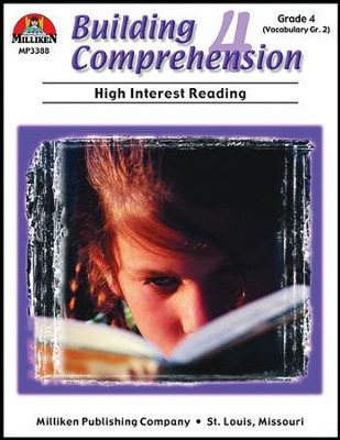 Building Comprehension (high/low) Grade 4  -