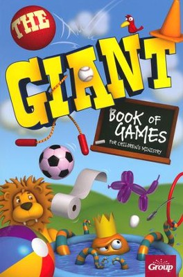 The Giant Book of Games for Children's Ministry   -